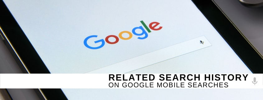 New Related Search History Feature on Google Mobile Searches