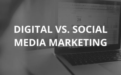 What is the Difference Between Digital and Social Media Marketing?