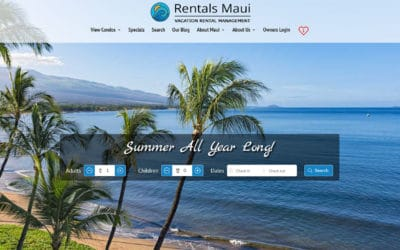 Introducing The All New RentalsMaui.com