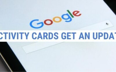 Google's Activity Cards Get an Update for Products, Recipes & Jobs